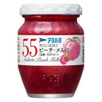 アヲハタ 55 ピーチ・メルバ(白桃・ラズベリー)150g 1個