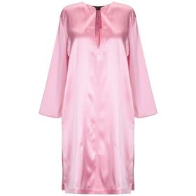 《送料無料》TWINSET レディース ミニワンピース&ドレス ピンク XL シルク 92% / ポリウレタン 8%