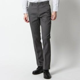 パンツ メンズ ズボン メンズ メガストレッチヘリンボンノータックパンツ【76〜88】 「グレー」