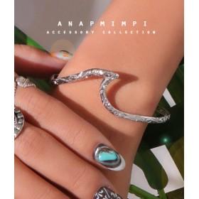 【セール開催中】ANAP(アナップ)ウェーブハワイアンブレスレット