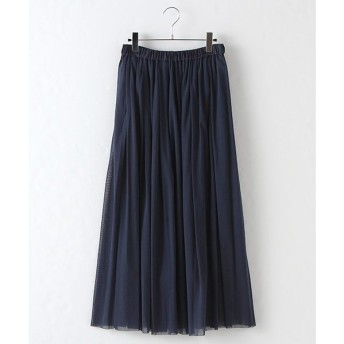 MARcourt / マーコート tulle tucked long SK