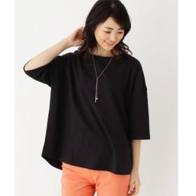 SHOO・LA・RUE / シューラルー カリフォルニアコットンゆるTシャツ