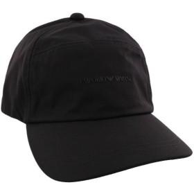 EMPORIO ARMANI エンポリオアルマーニ キャップ 帽子 メンズ ブラック 627509 8A578 00020 NERO