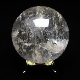 水晶 丸玉 スフィア 虹入り 56mm  151-809
