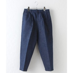 MARcourt / マーコート denim center press PT