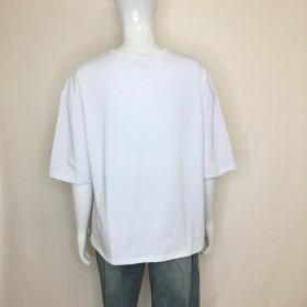 Tシャツ - G & L Style レディース 半袖 トップス カットソー シンプル カジュアル ロゴプリント 半袖Tシャツ 5860