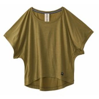スーパーナチュラル:【レディース】ペイト Tシャツ【sn super.natural エスエヌ スポーツ フィットネス 半袖 Tシャツ】