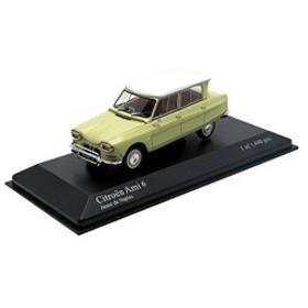 PMA 1/43 Citroen Ami 6 1964 Yellow 完成品