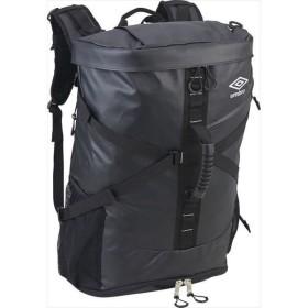 [umbro]アンブロバッグ バックパックL 45L (UUANJA00)(BKSV) ブラック×シルバー