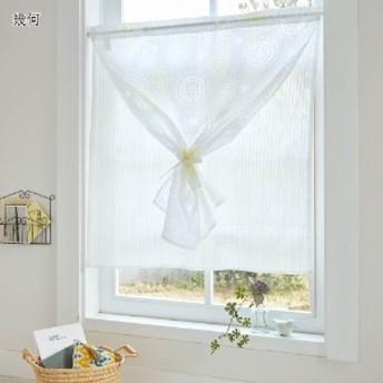 2重オパール小窓カーテン