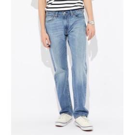 Levi's 【涼しいジーンズ】「505 COOL」 ストレートデニムパンツ メンズ 中濃加工色