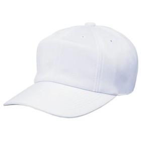 [SSK]エスエスケイ野球角ツバ8方型ベースボールキャップ(10)ホワイト[取寄商品]