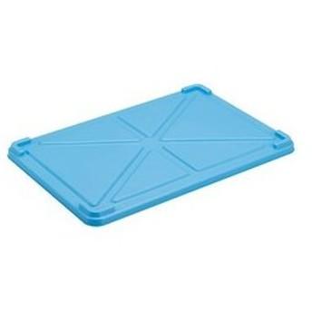 PPカラー番重用蓋ブルー CD:027090
