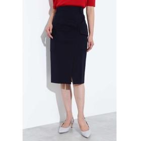 BOSCH / [ウォッシャブル]ポケット付きラップ調スカート