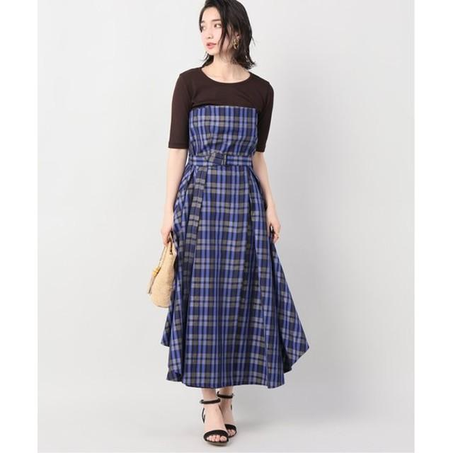 VERMEIL par iena ATON SILKLINE SHANTONIT STRAPLES ドレス その他カラー A XS