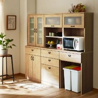 【大型商品送料無料】【受注生産】キッチンにぴったり!壁面収納キャビネット キナコ