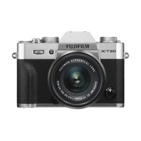 富士フイルム FUJIFILM X-T30 XC15-45mm ミラーレス一眼カメラ レンズキット シルバー