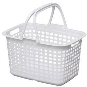 IRIS ランドリーバスケット ピュアホワイト LBMPWH