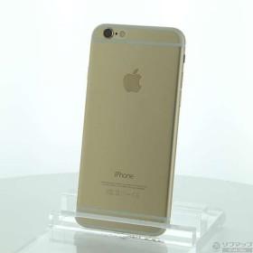 〔中古〕Apple(アップル) iPhone6 128GB ゴールド MG4E2J/A SoftBank