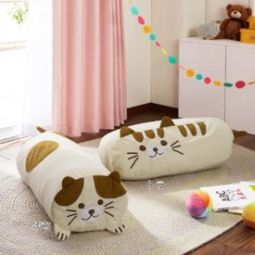 クッションにもなる布団収納袋(ネコ)