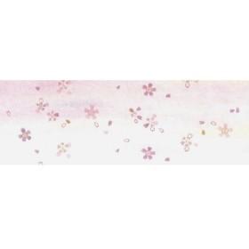 若泉漆器 上質箸置マット 朧(おぼろ)シリーズ 桜 100枚入 B-27-28