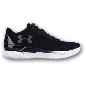 UNDER ARMOUR CURRY 1 LUX LOW 'SUEDE' アンダーアーマー カリー 1 ロー ラックス 【MEN'S】 black/white/black 1296619-002