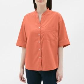 GU ワイドスリーブシャツ 5分袖 レディース