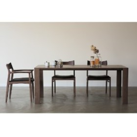 【大型商品送料無料】ウォルナット材のダイニングテーブル(OWEN)