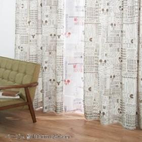 ミッキーマウスフォントのカーテン