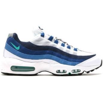 NIKE AIR MAX 95 OG エア マックス 95 OG 【MEN'S】 white/emerald green-court blue-new slate 554970-131