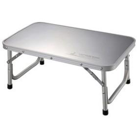 キャプテンスタッグ アウトドアテーブル ステンレストップテーブル 56×34