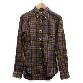 インディビジュアライズドシャツ 長袖ボタンダウンシャツ メンズ SIZE 13 1/2 (XS以下) INDIVIDUALIZED SHIRTS 中古