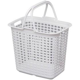 IRIS ランドリーバスケット ピュアホワイト LBLPWH