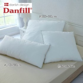 洗えるゆったりサイズのクッションピロー枕【ポリエステルわた】