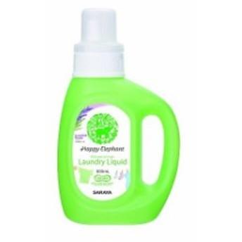 サラヤ ハッピーエレファント 液体洗たく用洗剤(代引不可)