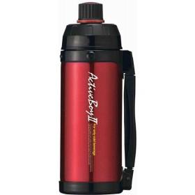 スポーツボトル ステンレス魔法瓶構造 アクティブボーイII レッド 1L F-2666 タフコ