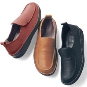 【リピーターが多い人気の定番靴】本革フットベットベルトシューズ[日本製]
