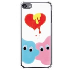 ガールズネオ apple iPod touch 第6世代 ケース (キモかわ/ハートドリップ) Apple iPodtouch6-PC-FKM-00616