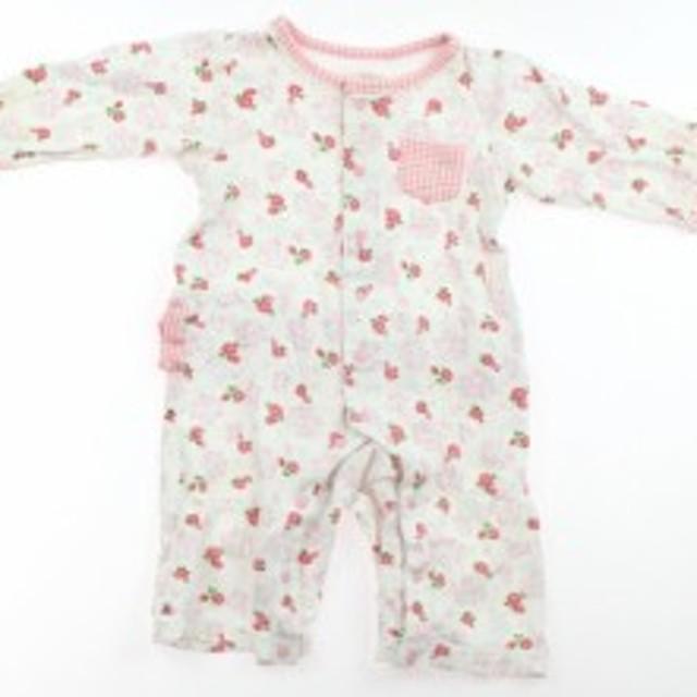 978aff3f876b6  コンビミニ Combimini カバーオール 70サイズ 女の子 USED子供服・ベビー服