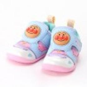 【ベビー靴】ボーイズ・ガールズアンパンマンベビーシューズ