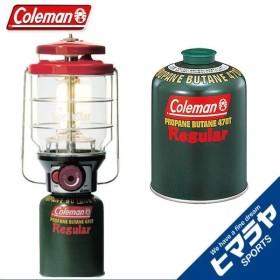 コールマン ガスランタン 2500ノーススターLPガスランタン レッド +純正LPガス燃料 2000015521+5103A470T coleman