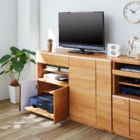 プリンターが収納できるハイタイプテレビ台