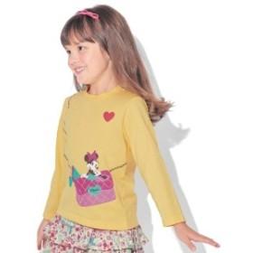 長袖Tシャツ【子供服】【男の子 女の子】