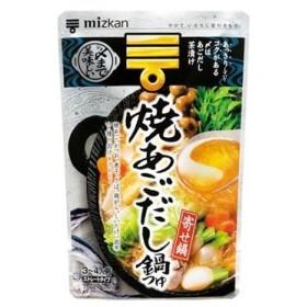 ミツカン 〆まで美味しい焼あご鍋つゆST 750g