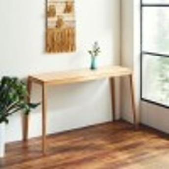 オーク材のコンソールテーブル