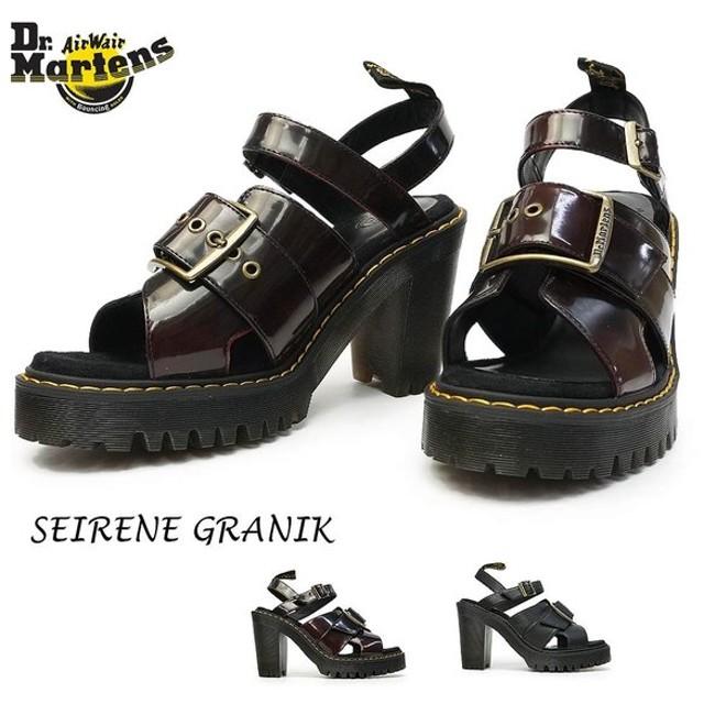 ドクターマーチン レディース サンダル グラニク GRANIK ハイヒール 婦人靴 バックル レザー
