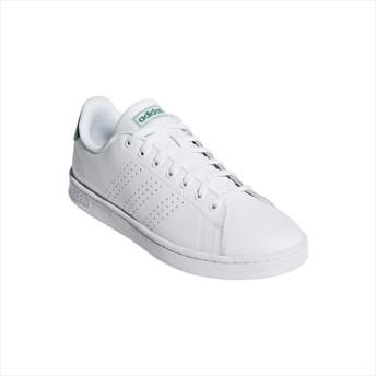 [adidas]アディダス シューズ ADVANCOURT LEA メンズ スニーカー カジュアル (F36424)ホワイト
