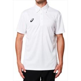 [asics]アシックス トレーニングウェア CAボタンダウンポロシャツ (2031A651)(100) ブリリアントホワイト[取寄商品]