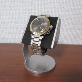 新作 ブラック半円パイプ支柱カーブ腕時計スタンド 2019 3 10