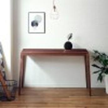 ウォルナット材のコンソールテーブル